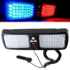 86 led visor panel car led strobe light emergency light led