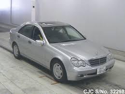 2001 Benz 2001 Mercedes Benz C Class Silver For Sale Stock No 32298