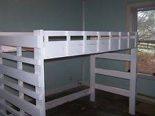 full loft bed ebay