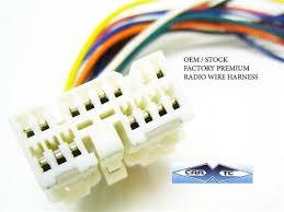 toyota oem premium factory radio wire harness 1991 2001 ebay