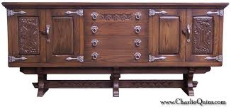 kitchen sideboard cabinet retro furniture old charm wood bros tudor sideboard cabinet