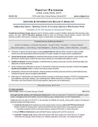 information security analyst resume it security analyst sle resume executive resume writer raleigh