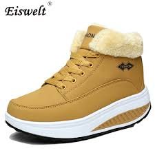s boots wedge eiswelt footwear winter s boots platform ankle boots wedge