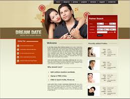 Free Dating Site Templates 27 dating website themes templates free premium templates