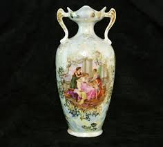 rs prussia vase es prov saxe germany art nouveau mythological