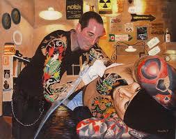 tattoo studio bandung tattoo artist painting by quwatha valentine