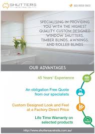 Timber Blinds And Shutters Shutters Awnings U0026 Blinds Sydney Scoop It