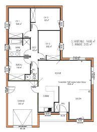 plan maison simple 3 chambres plans de maison gratuit plan de maison bungalow gratuit 2