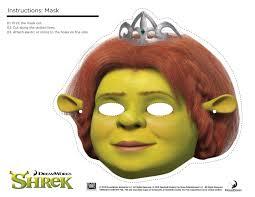 shrek photo booth props print free printable shrek mask tots