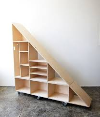 under stairs shelving look at waka waka triangle compartment shelf perfect for