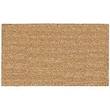 Coir And Rubber Doormat Amazon Com Nach Plain Coir Doormat With Rubber Backing Floor