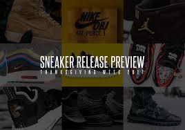 thanksgiving week sneaker releases 2017 sneakernews