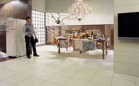 Modern Interior Design Ideas Creatively Using Ceramic Tiles For - Dining room tile