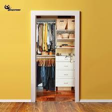 armoire chambre d enfant accueil creative artificielle 3d armoire portes autocollants pour