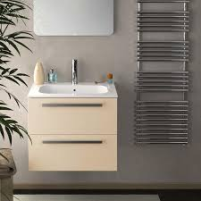 24 inch modern wall mounted bathroom vanity grey glossy finish