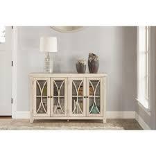 4 Door Cabinet Hillsdale Furniture Bayside Antique White 4 Door Cabinet 6278 897c
