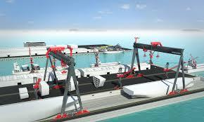 shipyard cranes konecranes uk