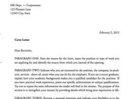 How To Address A Cover Letter With A Name Cia Cover Letter Gallery Cover Letter Ideas