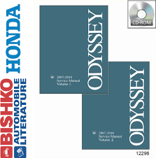 bishko oem repair maintenance digital shop manual cd honda odyssey