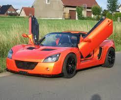 opel england opel speedster tuning sports car the opel speedster tuning is