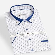 discount mens contrast collar dress shirt 2017 mens contrast