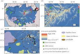 Columbian Exchange Map Predicting Pre Columbian Anthropogenic Soils In Amazonia