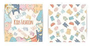 baby shower website baby shop discounts vector kids fashion design