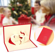 special discount buy creative christmas santa 3d pop up