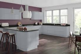 Handleless Kitchen Cabinets Grey Handleless Kitchen Doors Gemini Dove Grey