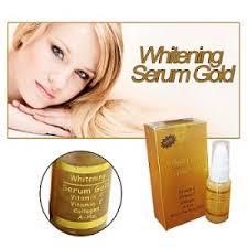 Serum Gold serum gold memutihkan dan menghaluskan kulit wajah dengan alami dan