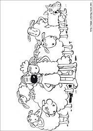 shaun sheep coloring picture shaun sheep