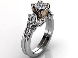 flower engagement rings flower style engagement rings 14184