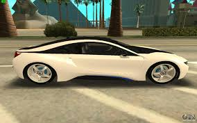 Bmw I8 360 View - bmw i8 for gta san andreas