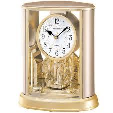 horloge de bureau design rhythm quartz horloge de bureau à pendule boîtier en plastique