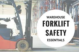warehouse forklift safety essentials fall protection blog