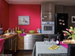 mur cuisine framboise unique deco cuisine couleur framboise id es logiciel fresh in mur