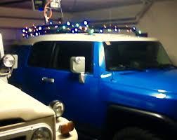 Christmas Lights For Cars Christmas Lights On The Roof Rack Toyota Fj Cruiser Forum