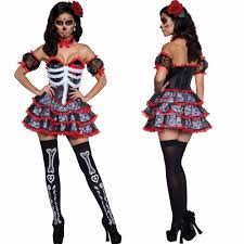 Ladies Skeleton Halloween Costume by Online Buy Wholesale Zombie Halloween Costumes For Women From