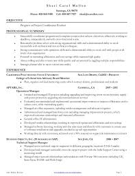 Salesforce Administrator Resume Sample by Fresh Project Coordinator Resume 10 Project Coordinator Resume