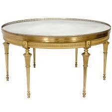 circular antique french louis xvi style gilt bronze mirror top