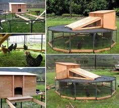 Best Backyard Trampoline by 10 Diy Backyard Chicken Coop Plans And Tutorial