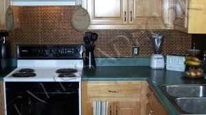 faux tin kitchen backsplash tin kitchen backsplash copper tin kitchen pressed metal kitchen