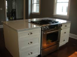 backsplash kitchen island with slide in stove kitchen island