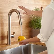 touchless kitchen faucets kitchen faucets touchless faucets pull faucets