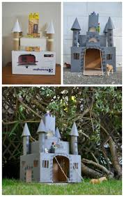 How To Make A Easy Toy Box by How To Make A Box Castle From Be A Fun Mum Middle Ages Unit