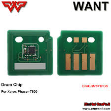 xerox drum chip resetter for xerox 106r01582 drum chip phaser 7800 drum cartridge chip