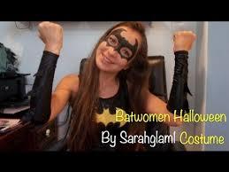 batwoman halloween costume sarahglam1 youtube