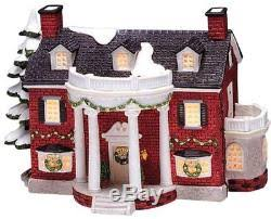 christmas village collection lighted houses and figurines 35 pc bundle