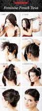 Long Hairstyles Easy Updos by Craftionary