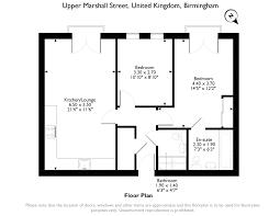 2 bed flat for sale in upper marshall street birmingham b1